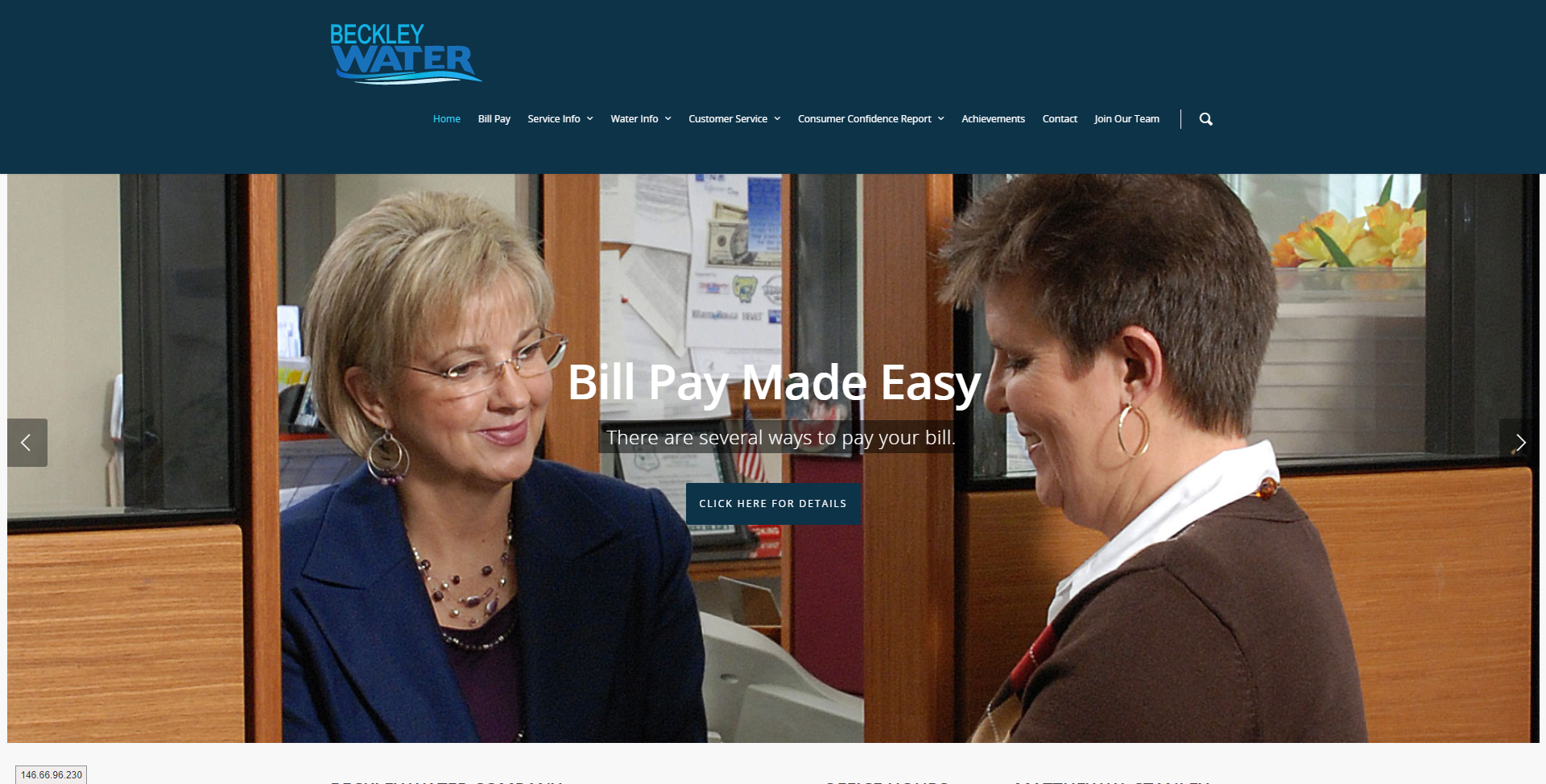 Beckley Water Company | The Official Water Company of Beckley